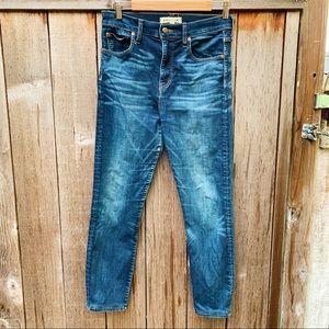 Madewell x Rivet & Thread Blue Skinny Jeans